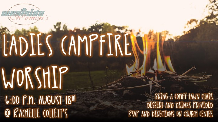 Ladies Campfire Worship logo image