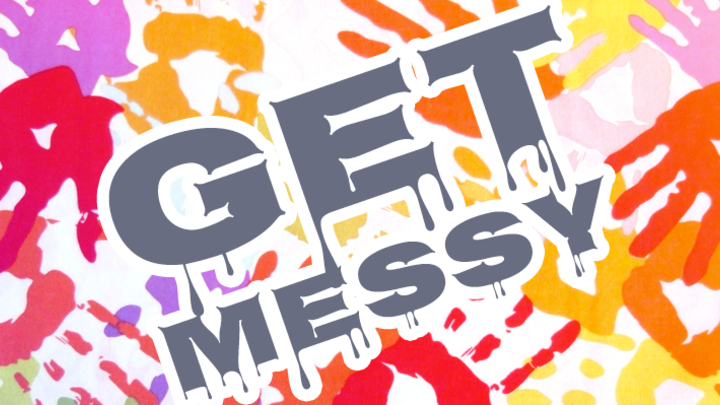 Enrichment's Getting Messy Camp logo image