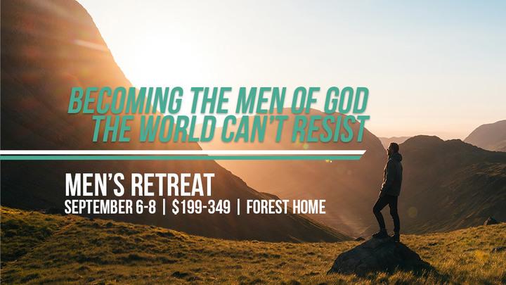 Men's Retreat  // MADE Men of God logo image