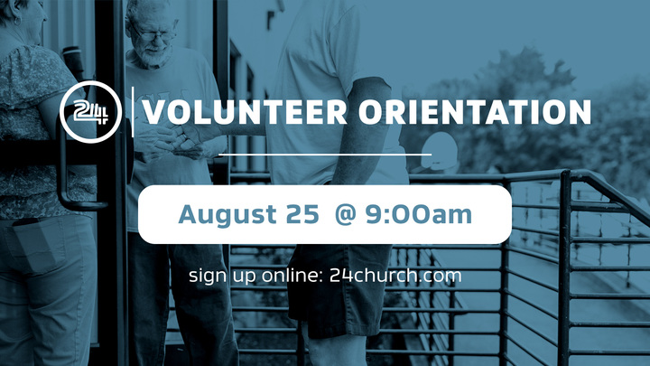 Volunteer Orientation logo image