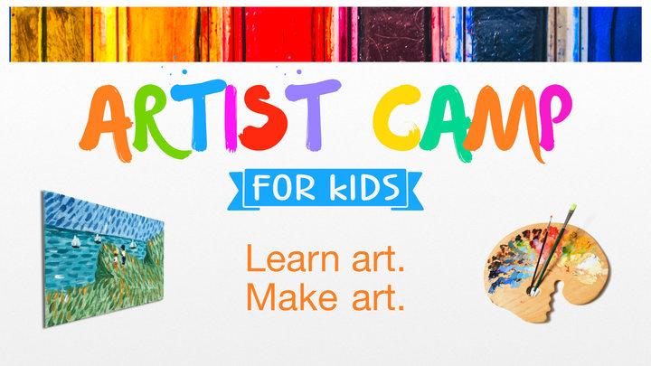 Artist Camp for Kids logo image