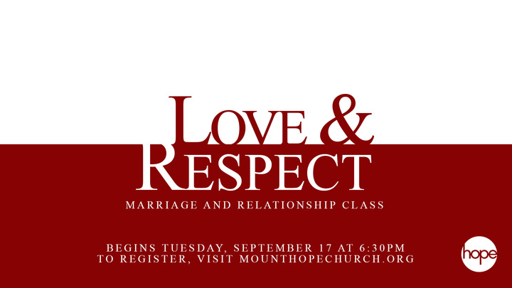 Love & Respect: Marriage and Relationships logo image