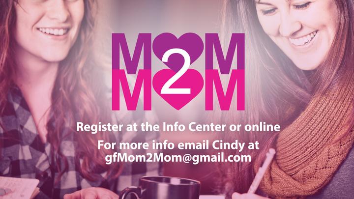 Halfmoon Mom2Mom  logo image