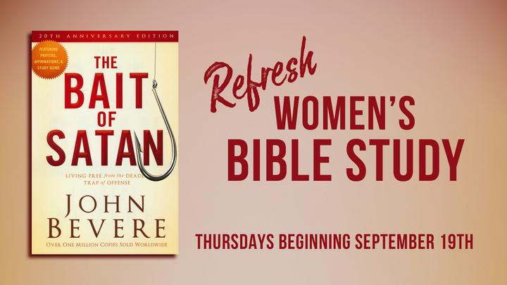 Refresh Women's Evening Bible Study logo image