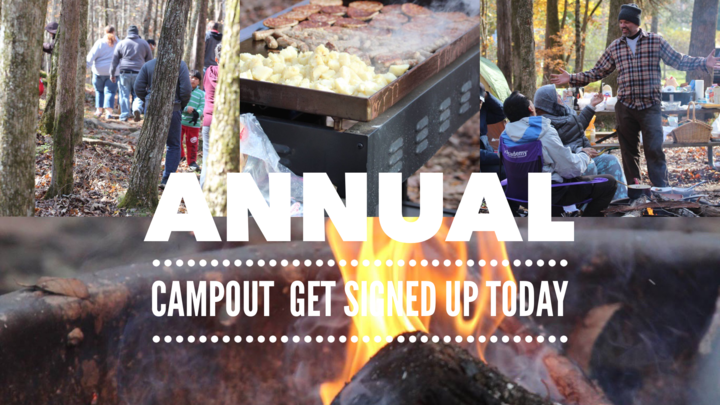 CP Annual Campout  logo image