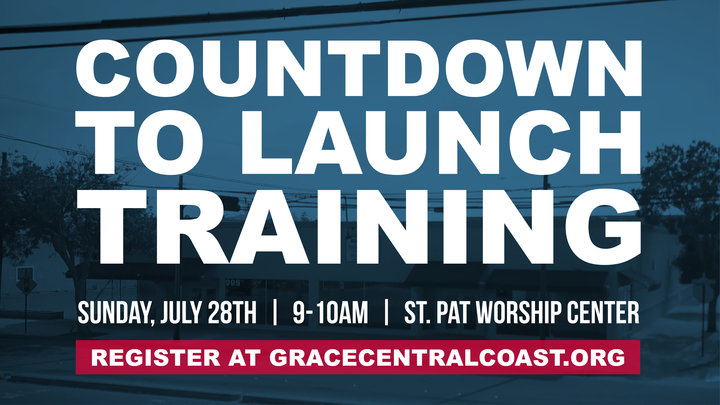 Countdown To Launch Training - Grace5Cities - July 28th 2019 logo image