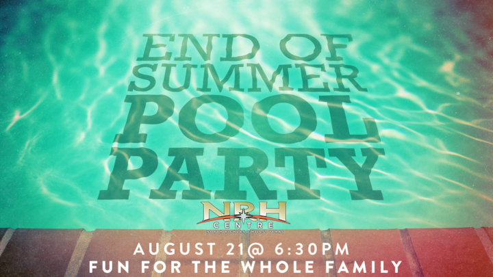 End of Summer Pool Party logo image