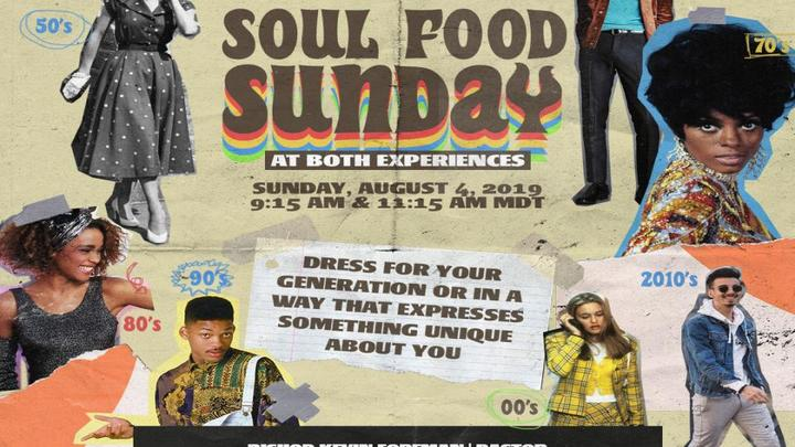 Soul Food Sunday  logo image