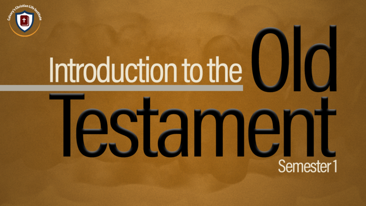 Introduction to the Old Testament I logo image