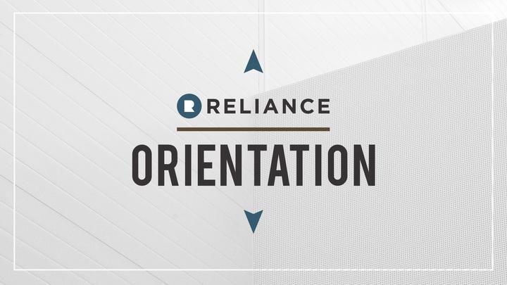Reliance Orientation September 2019 logo image