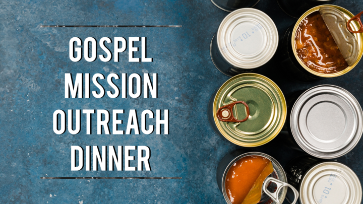 Gospel Mission Outreach Dinner logo image