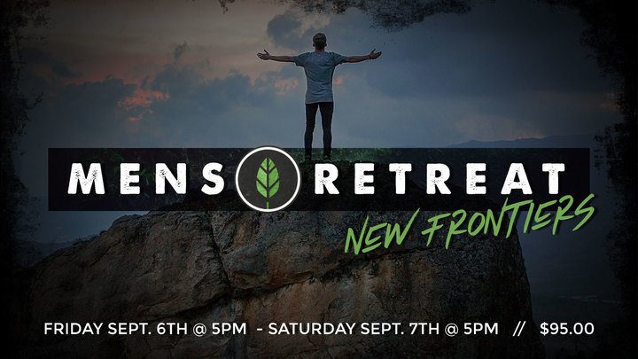 Men's Retreat at New Frontiers logo image