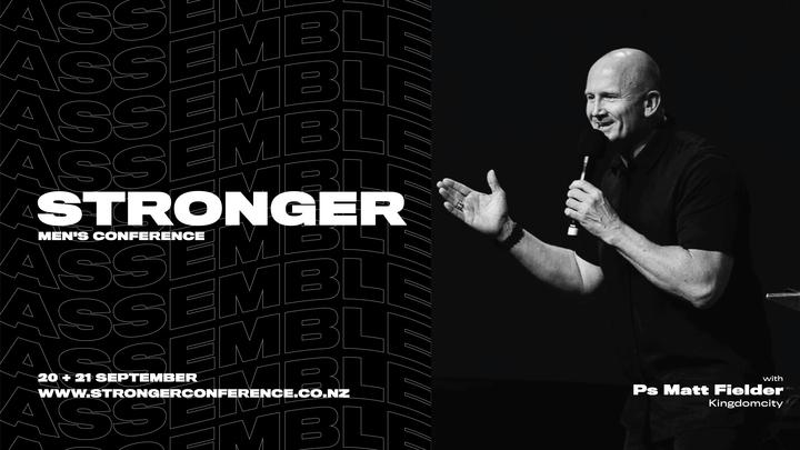 Stronger 2019 - Palmerston North logo image