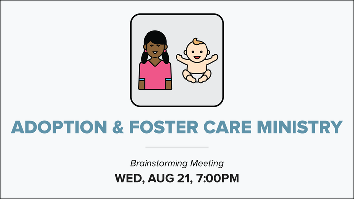 Adoption & Foster Care Ministry - Brainstorming Meeting logo image