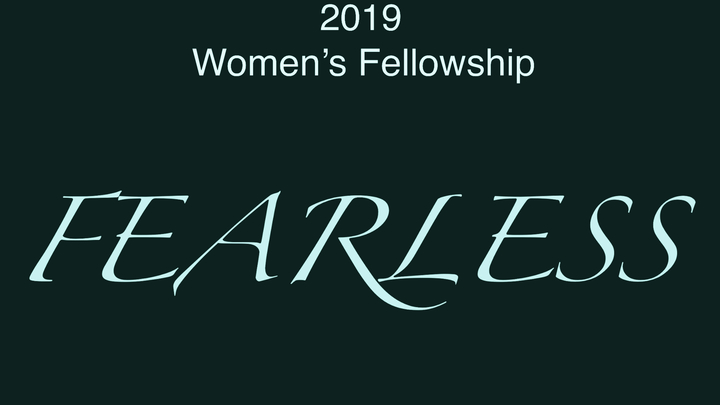 2019 Women's Fellowship logo image