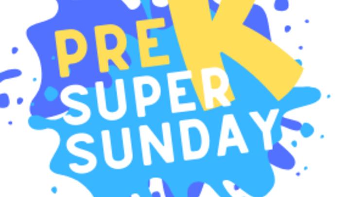 Pre K Super Sunday logo image