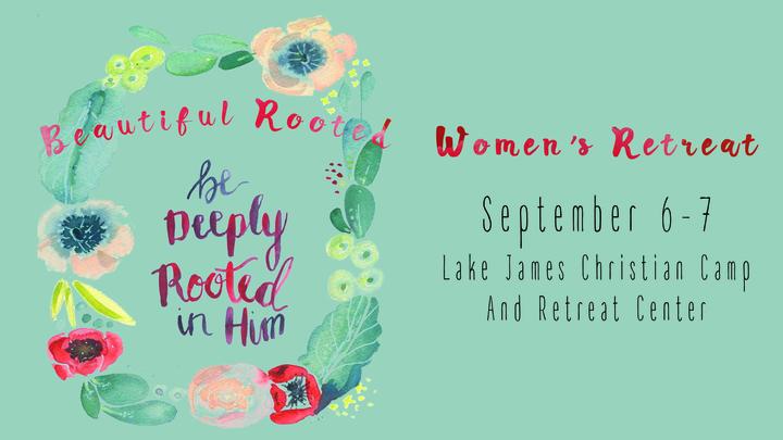 Beautifully Rooted - Women's Retreat logo image