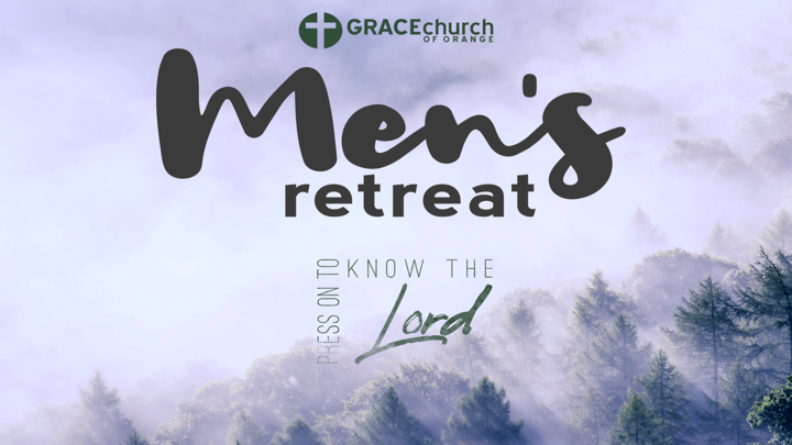 Men's Retreat 2019 - Press to Know the Lord logo image