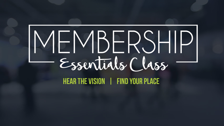Membership Essentials Class (2 weeks - September 3 & 10) logo image