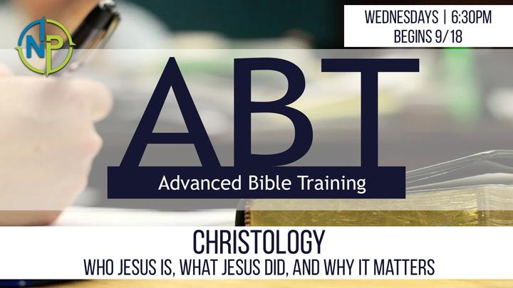 ABT - Christology (4 Weeks, Wednesdays 6:30-8:00) logo image