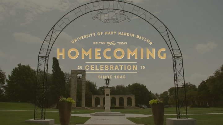 Homecoming 2019 logo image
