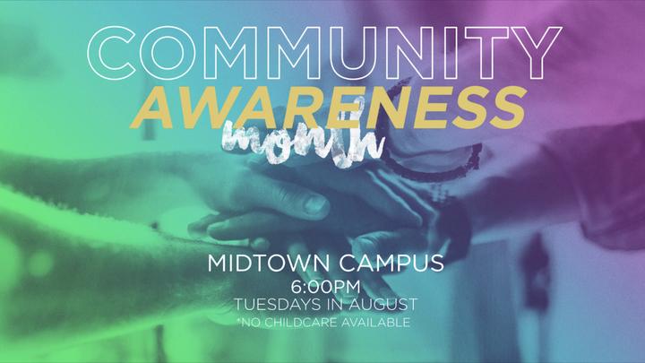 Community Awareness Month logo image