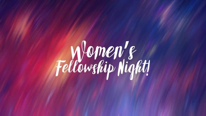 Women's Fellowship Night! logo image