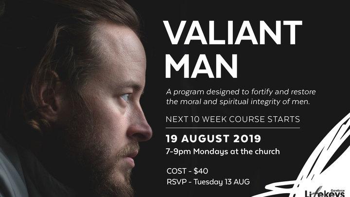 Valiant Man logo image
