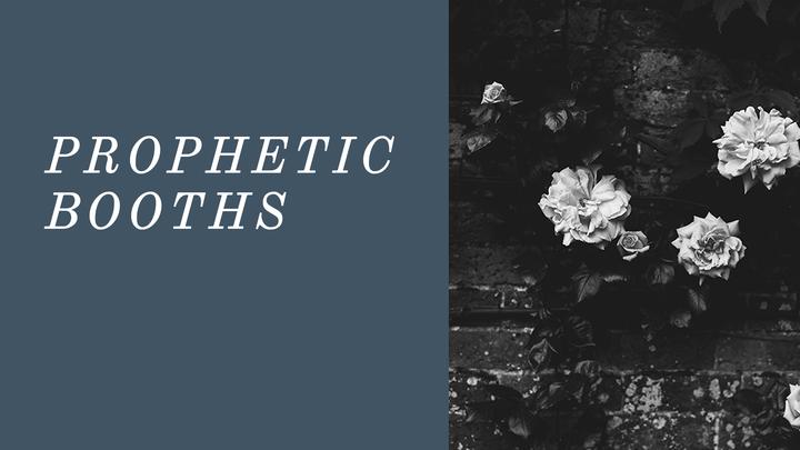 September Prophetic Booths - 3 pm logo image