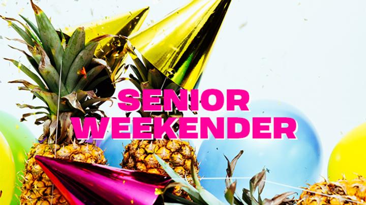 Senior Weekender 2019 logo image