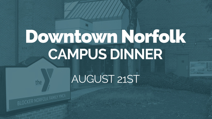 August 21th: Campus Dinner (Downtown Norfolk) logo image