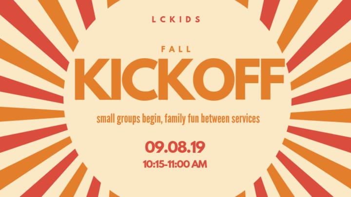 LC Kids Fall Kick-Off logo image