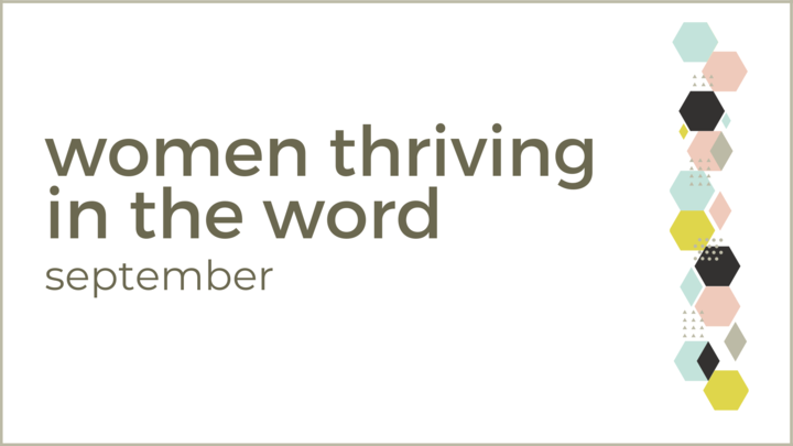 Women Thriving in the Word  logo image