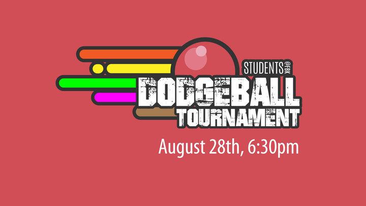 Students@FBK Dodgeball Tournament logo image