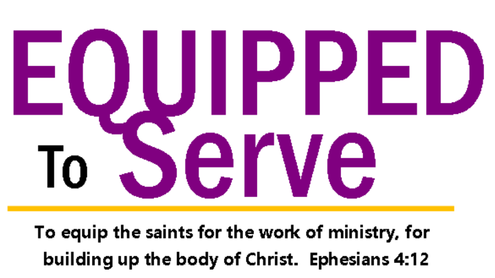 Equipped to Serve logo image