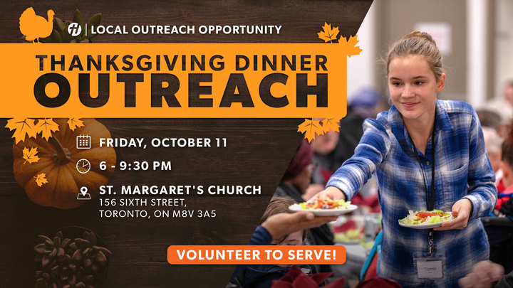 Serving at the Thanksgiving Outreach logo image