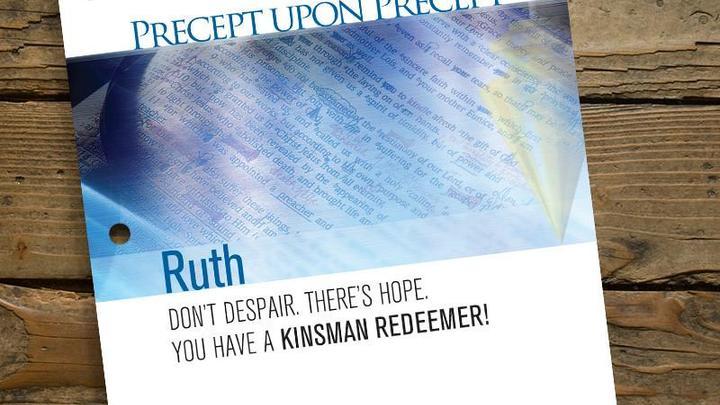 Women's Bible Study: Precept Upon Precept Inductive Studies (Ruth) logo image