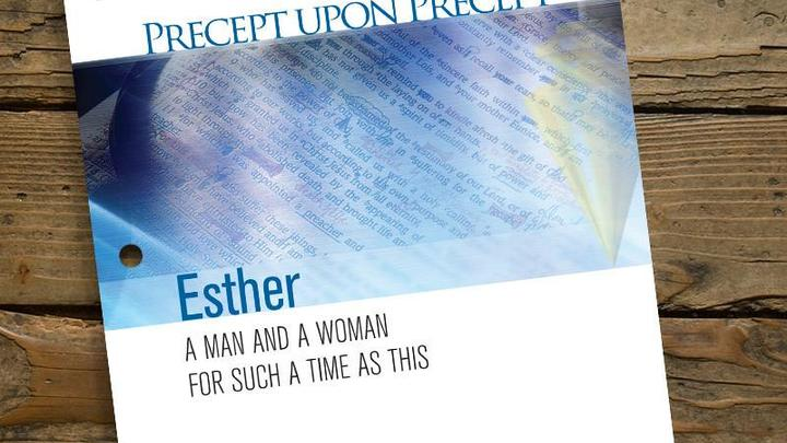 Women's Bible Study: Precept Inductive Study; Esther logo image