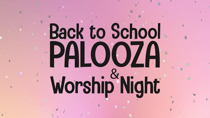 Back to School Palooza logo image