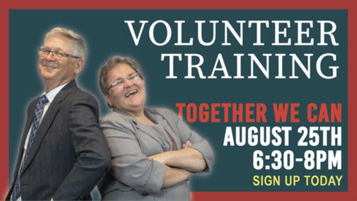 Volunteer Training and Prayer logo image