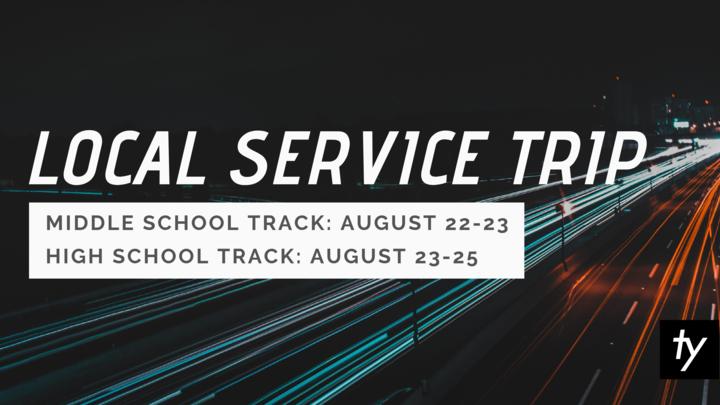 Trinity Youth Local Service Trip logo image