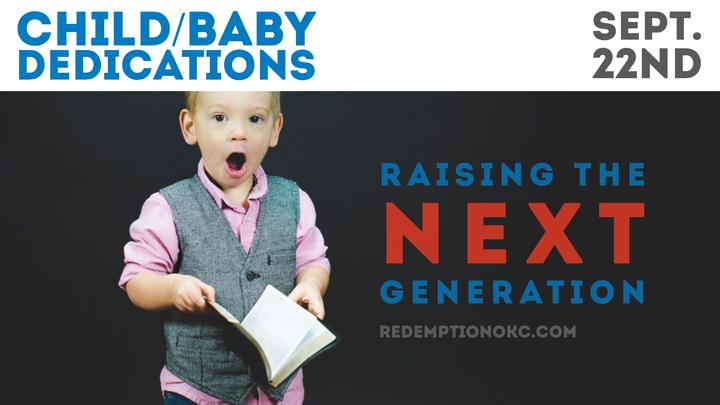 Baby & Child Dedication logo image