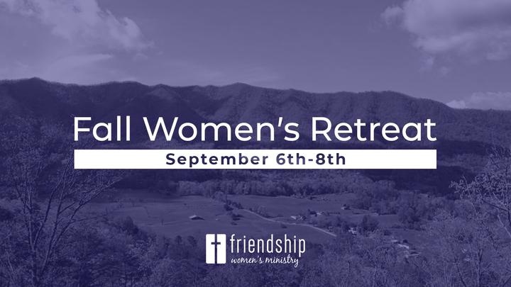 Fall Women's Retreat logo image