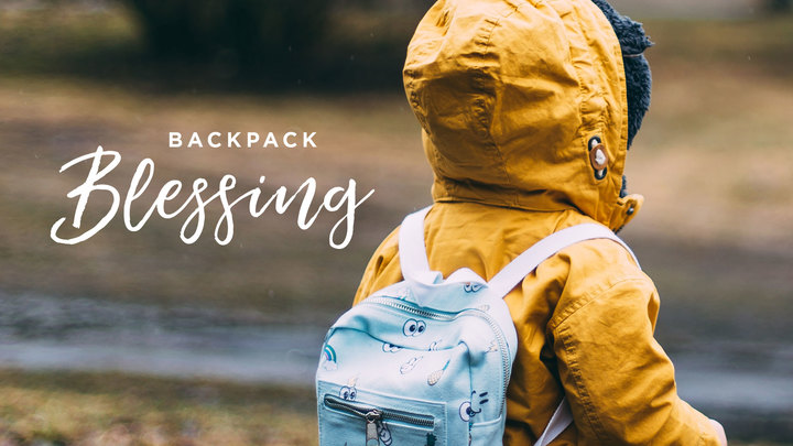 Backpack Blessing Sunday logo image