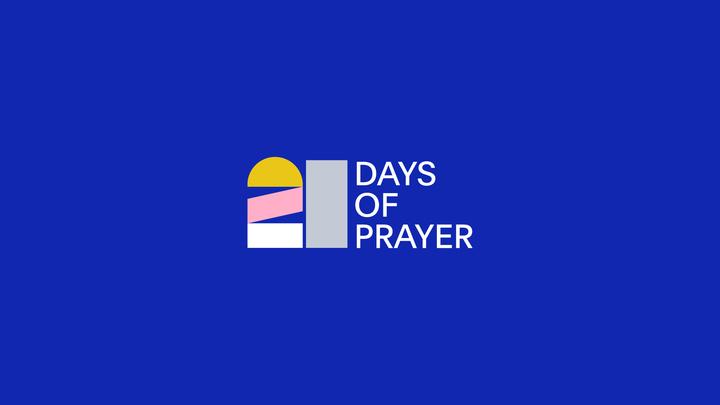 21 Days of Prayer logo image