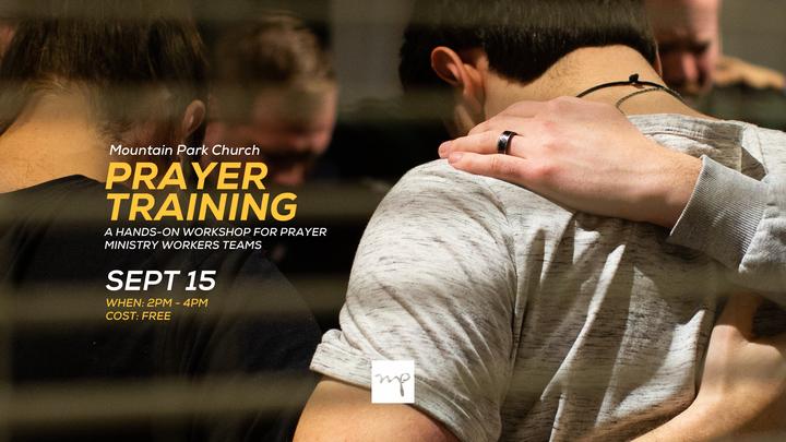Prayer Ministry Training Masterclass logo image