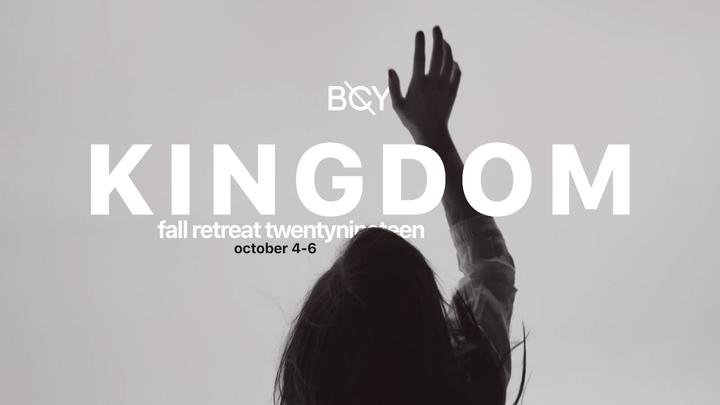 KINGDOM - Fall Retreat 2019 logo image