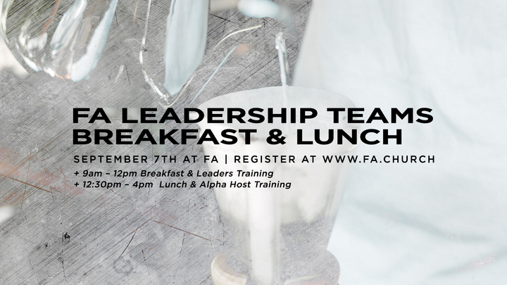 FA Leadership Teams Breakfast & Lunch  logo image