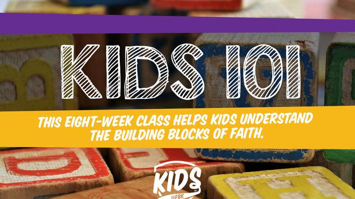 Kids 101 logo image