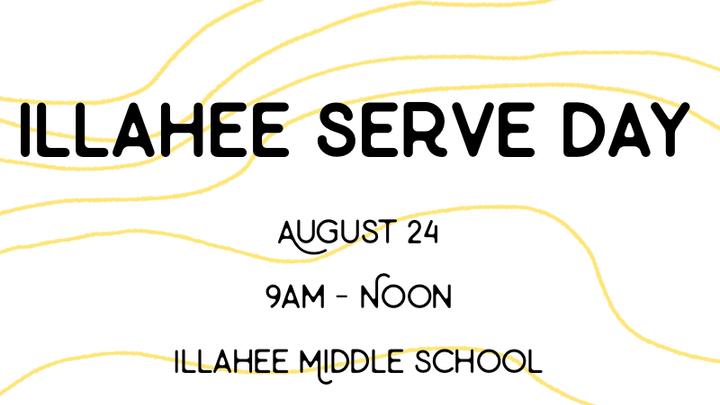 Illahee Serve Day logo image